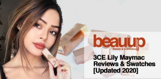 3CE Lily Maymac Reviews & Swatches [Updated 2020]
