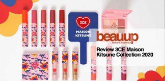 Review 3CE Maison Kitsune collection