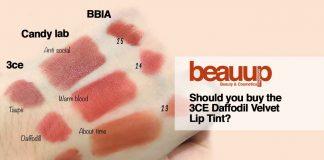 Should you buy the 3CE Daffodil Velvet Lip Tint?