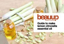 Guide to make lemon citronella essential oil to incense your room