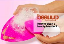 How to clean a beauty blender?