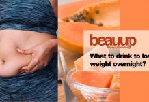 What to drink to lose weight overnight cover